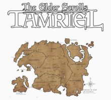 The Elder Scrolls Map by Geoman7