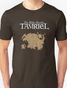 The Elder Scrolls Map T-Shirt