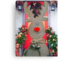 It's Rudolph Canvas Print