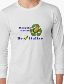 Save Mother Earth Tee-shirt and Stickers Long Sleeve T-Shirt