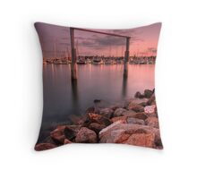 Manly Goal Posts Throw Pillow