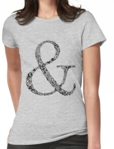 Ampersand LOVE Womens Fitted T-Shirt