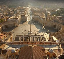 Rome from St Peters by Jeremy Moran