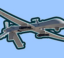 Predator Drone War Peace 1984 Military by psmgop