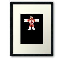 True Detective Lone Star Framed Print