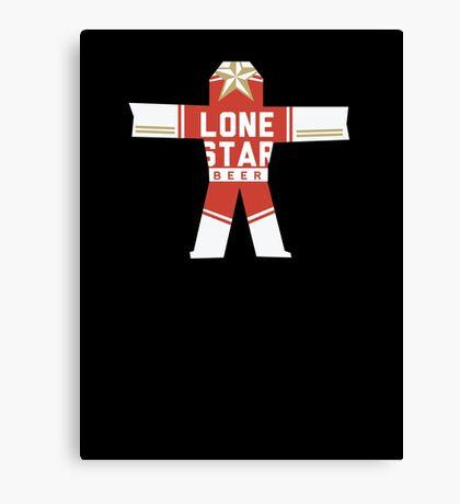 True Detective Lone Star Canvas Print
