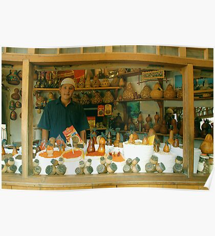 Bukhara Spice Store Poster