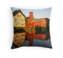 Exeter River Throw Pillow