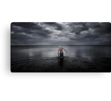Swimmer  version 2  Canvas Print