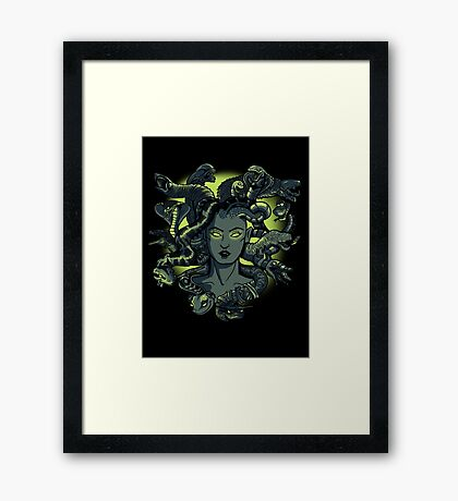 Famous Hairdo Framed Print