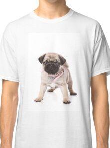 Charming pug puppy Classic T-Shirt