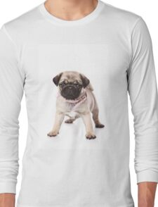 Charming pug puppy Long Sleeve T-Shirt
