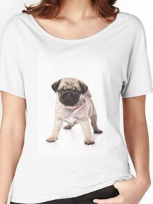 Charming pug puppy Women's Relaxed Fit T-Shirt