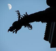 Dragon Silhouette by snefne