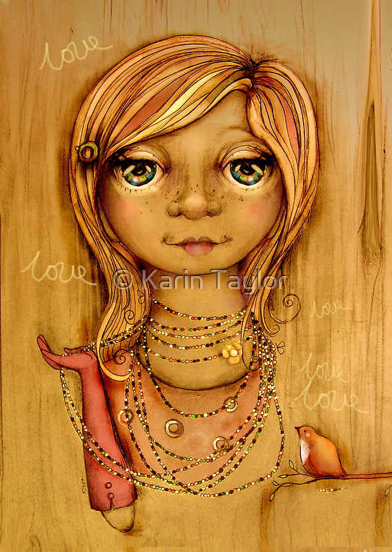 Love Beads by © Karin (Cassidy) Taylor