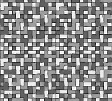 Abstract gray scale pixel background by lantica