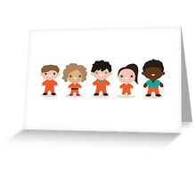 Misfits Crew Greeting Card