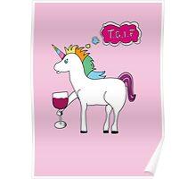 TGIF Unicorn Poster