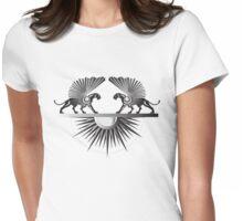 Midnight Sun Womens Fitted T-Shirt