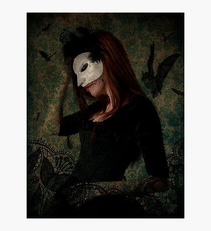 Masked Death Photographic Print