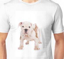 Cute puppy bulldog Unisex T-Shirt