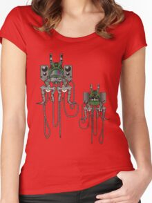 Sound Machine (colour) Women's Fitted Scoop T-Shirt