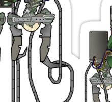 Sound Machine (colour) Sticker