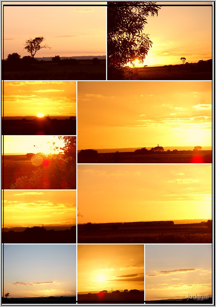 Sunset Collage...MELTON VICTORIA by judygal
