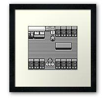 No choosing Pokemon Design Framed Print
