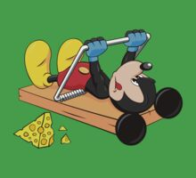 Mickey Mouse at the gym Kids Clothes