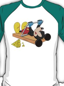 Mickey Mouse at the gym T-Shirt