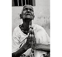 Blind faith? Photographic Print