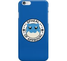 Pokemon Spheal of Approval iPhone Case/Skin
