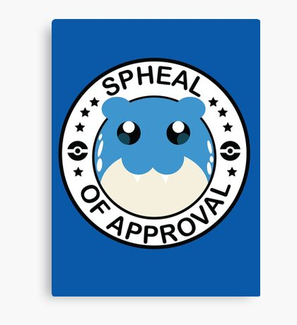 Spheal of Approval Canvas Print