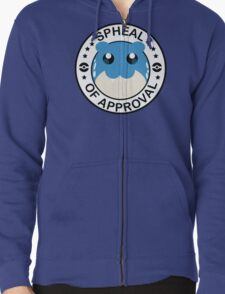 Pokemon Spheal of Approval Zipped Hoodie