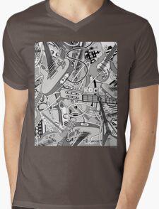 Music II Mens V-Neck T-Shirt