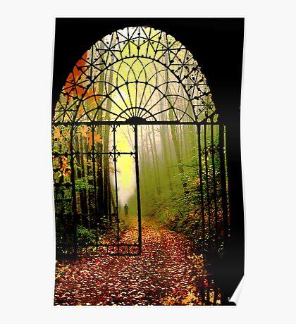 Gates of Autumn Poster