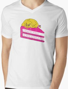 Tree Trunks Adventure Time Mens V-Neck T-Shirt
