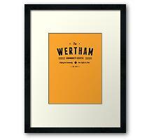 Misfits Wertham Community Centre Framed Print