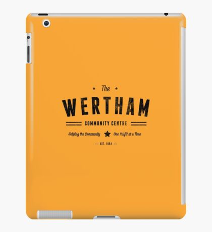 Misfits Wertham Community Centre iPad Case/Skin
