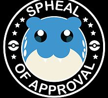 Pokemon Spheal of Approval - White by dschorst