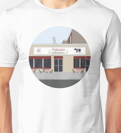 Satriale's, from the Sopranos HBO Unisex T-Shirt