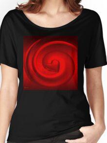 A Woman's Heart/ART + Product Design Women's Relaxed Fit T-Shirt