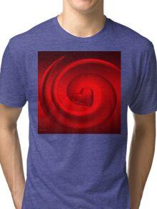 A Woman's Heart/ART + Product Design Tri-blend T-Shirt