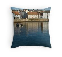 St Monans, Fife Throw Pillow
