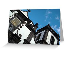 Religious architecture Greeting Card