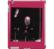 Churchill- Senate Speech- T-Shirt etc.... iPad Case/Skin