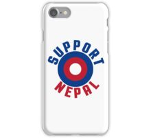 Support Nepal EARTHQUAKE RELIEF FUND DESIGN iPhone Case/Skin