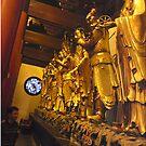 The Eight Buddhas by barnsy