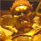 The Grumpy Buddha by barnsy